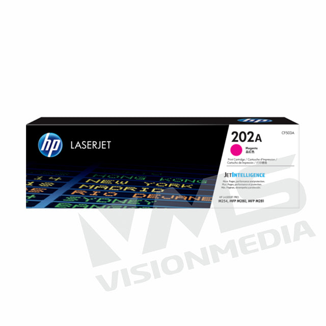 HP 202A MAGENTA TONER CARTRIDGE (CF503A)