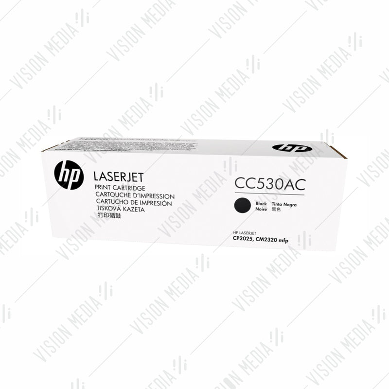 HP 304A BLACK CONTRACTUAL TONER CARTRIDGE (CC530AC)