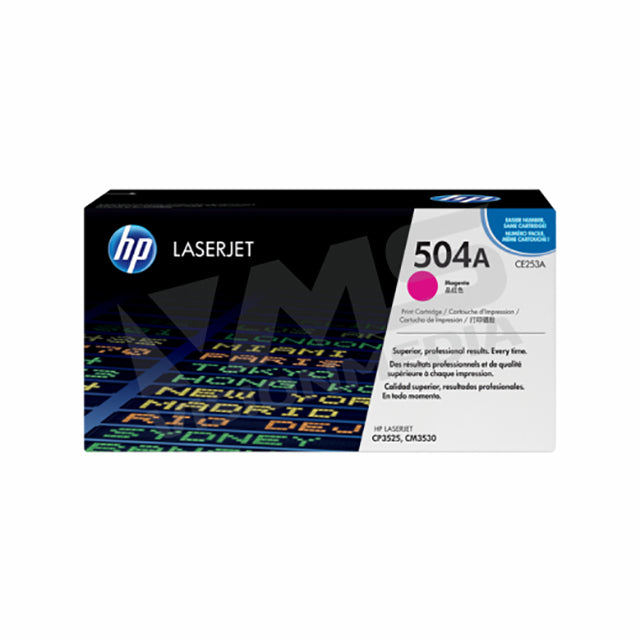 HP 504A MAGENTA TONER CARTRIDGE (CE253A)