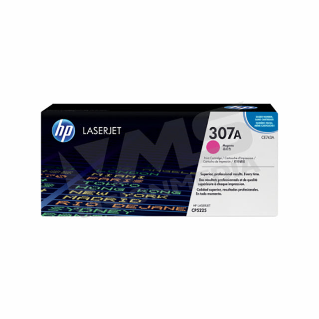 HP 307A MAGENTA TONER CARTRIDGE (CE743A)