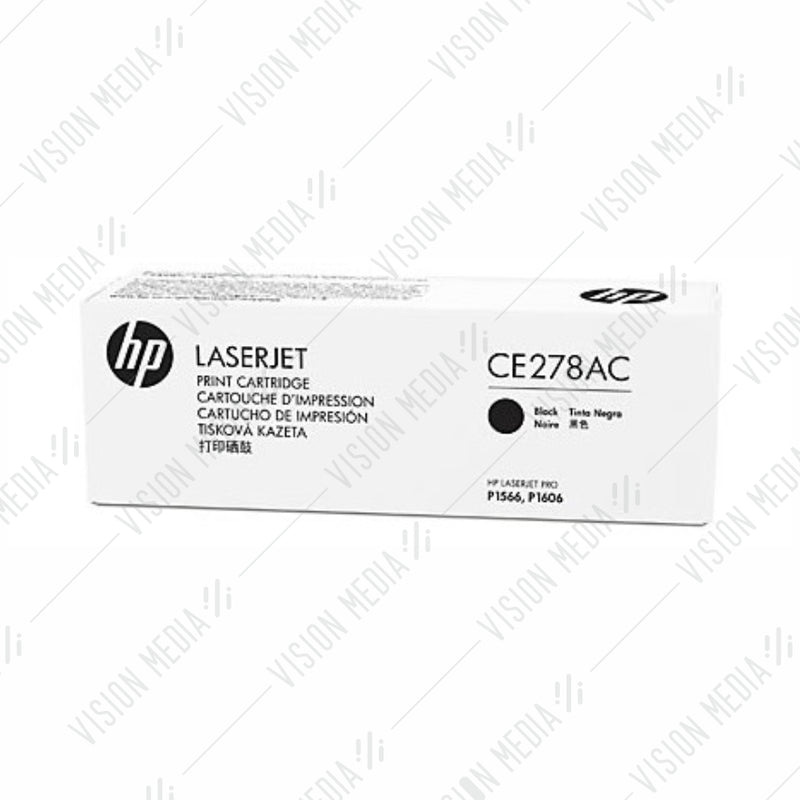 HP 78A BLACK CONTRACTUAL TONER CARTRIDGE (CE278AC)