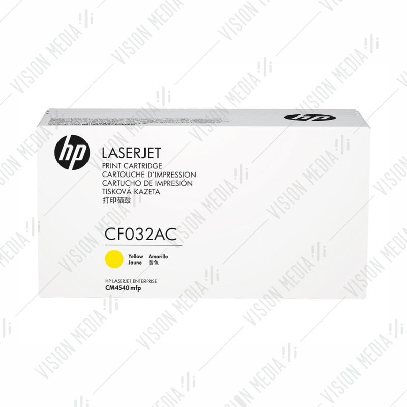 HP 646A YELLOW CONTRACTUAL TONER CARTRIDGE (CF032AC)