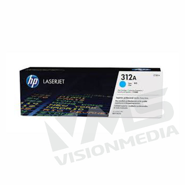HP 312A CYAN TONER CARTRIDGE (CF381A)