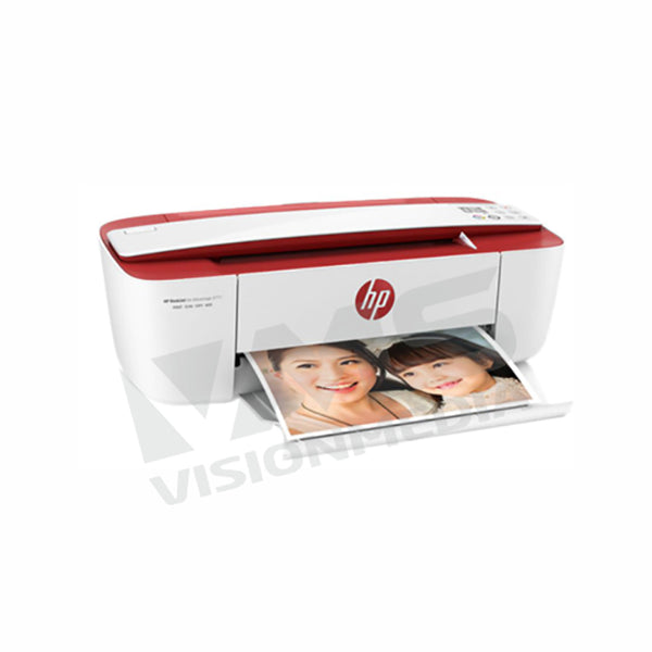 HP DESKJET INK ADVANTAGE 3777 AIO PRINTER (RED) (T8W40B)
