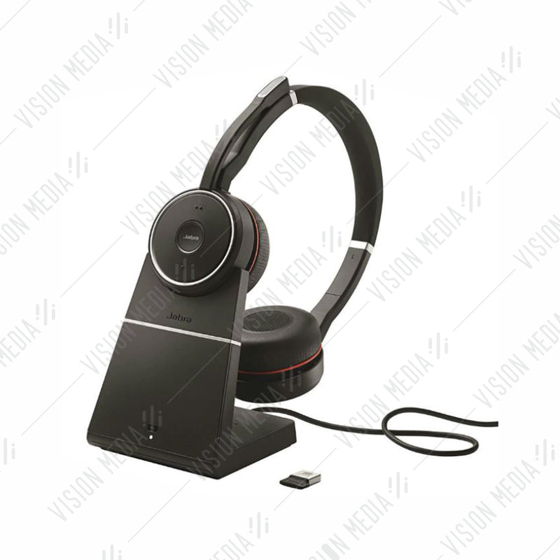 JABRA EVOLVE 75 MS STEREO WITH CHARGING STAND (7599-832-199)