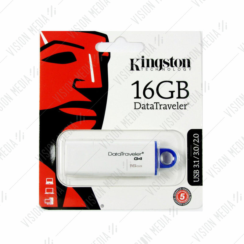 KINGSTON DTI GENERATION 4 (G4) 16GB FLASH DRIVE (DTIG4/16GB)