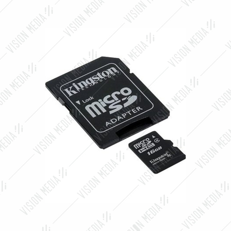 KINGSTON MICRO SDHC CARD CLASS 4 16GB (SDC4/16GB)