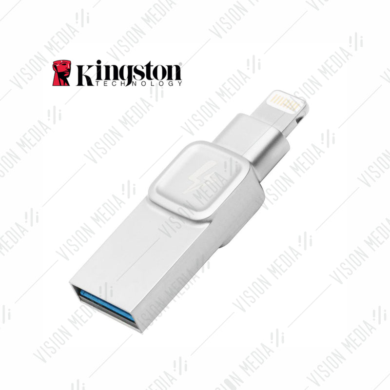 KINGSTON DT BOLT DUO FOR IPAD & IPHONE 32GB (C-USB3L-SR32G-EN)