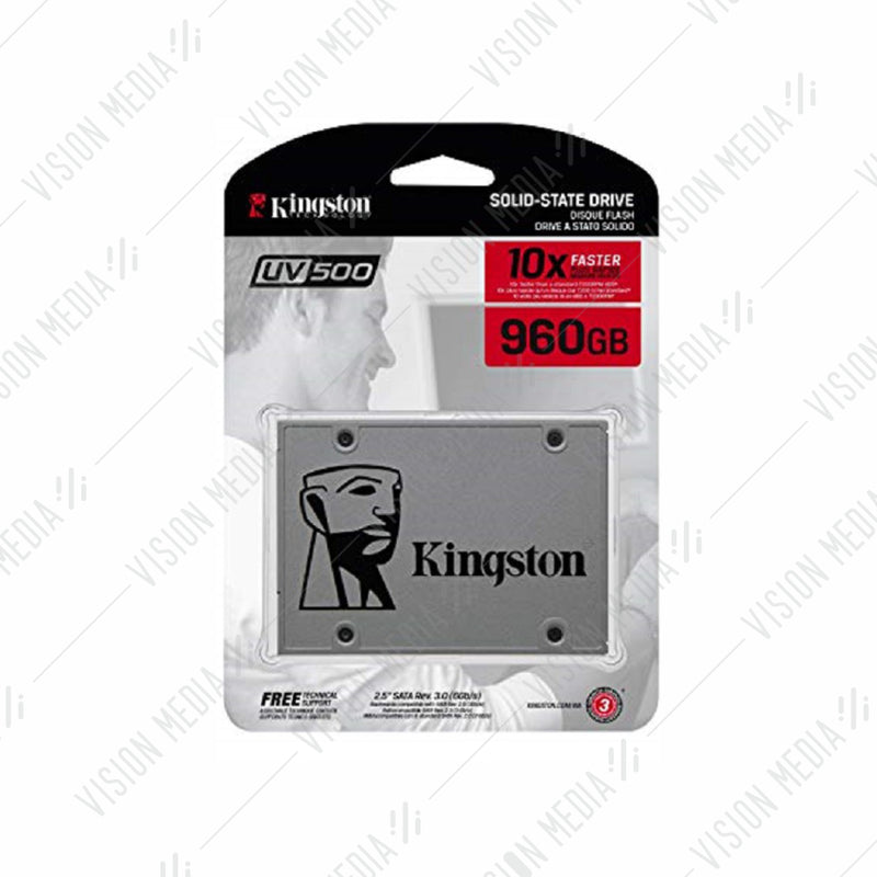 "KINGSTON SSD UV500 SERIES 2.5"" SATA 960GB (SUV500/960G)"