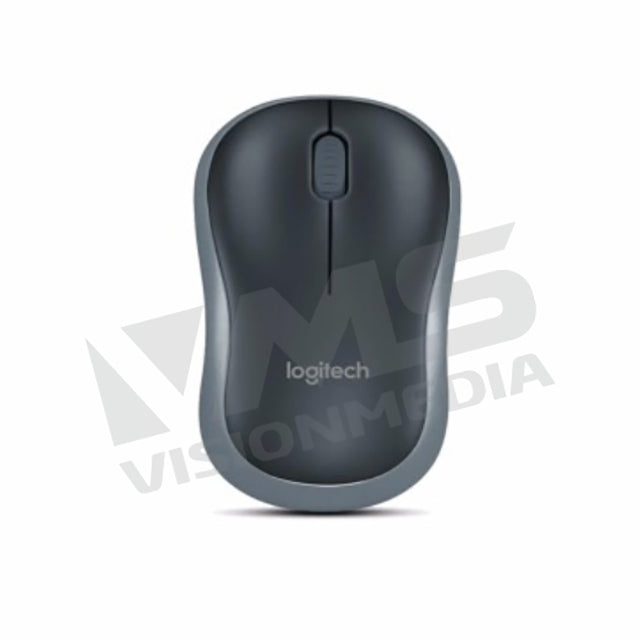 LOGITECH WIRELESS MOUSE M185 (GREY) (910-002255)