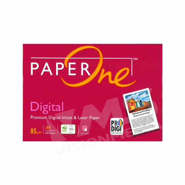 PAPER ONE 85GSM PREMIUM A4 SIZE PAPER (500 SHEETS)