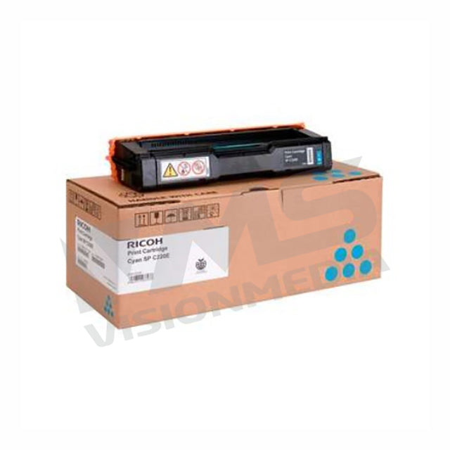 RICOH SP C220 CYAN TONER CARTRIDGE (406060)