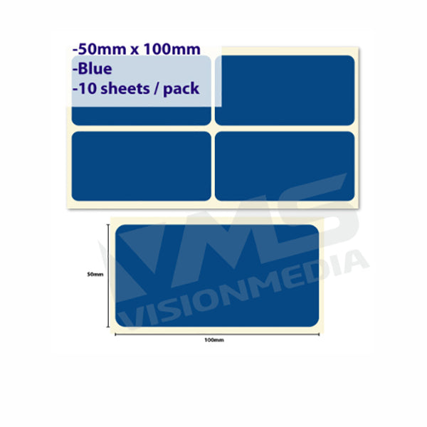 LABEL STICKER 50MM X 100MM