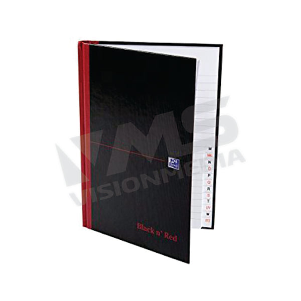 HARD COVER A - Z INDEX SQUARE BOOK 200 PAGES