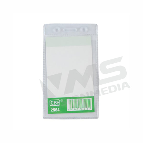 PVC NAME BADGE COVER (65MMX95MM) (VERTICAL) (2564)