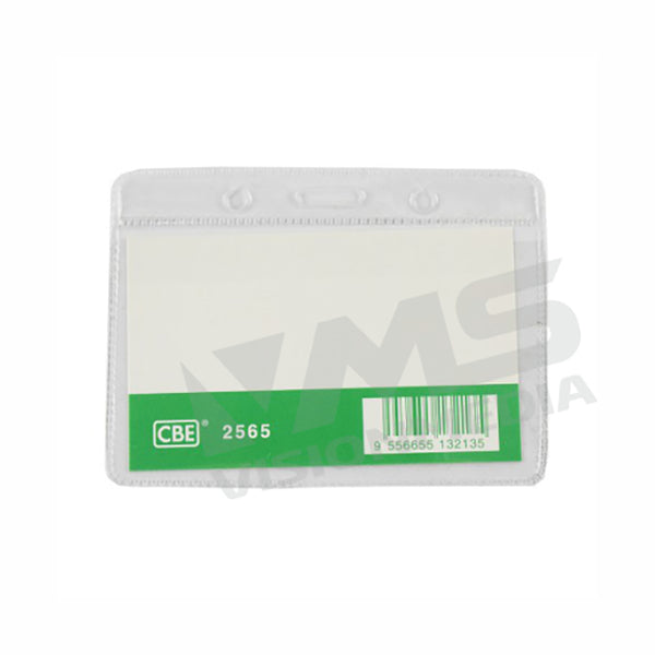 PVC NAME BADGE COVER (95MMX65MM) (HORIZONTAL) (2565)