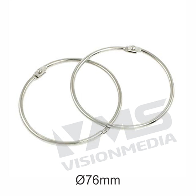 CARD RING 76MM DIAMETER (5 PCS / PACK)