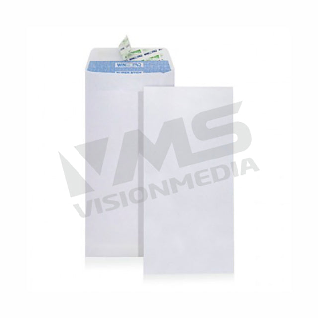 "WINPAQ 100GSM P&S ENVELOPE (4.4"" X 9.6"") (WP4496P) (500/BOX)"