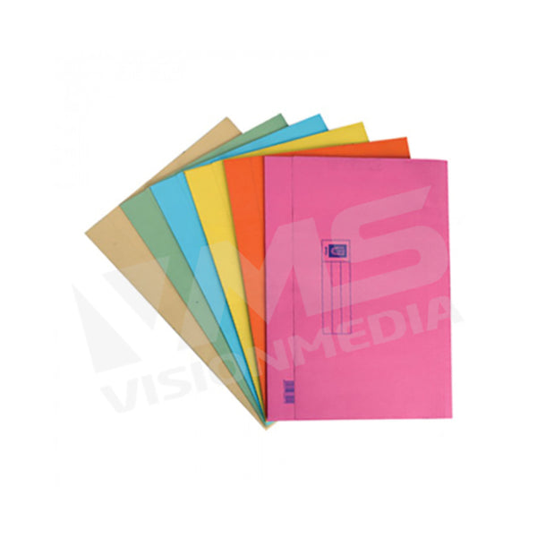 COLOR MANILA POCKET FILE 603