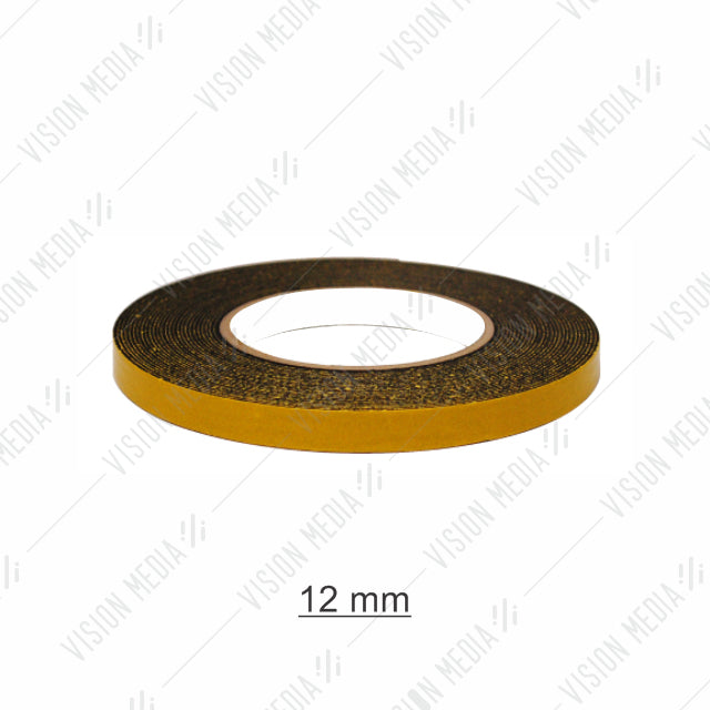 EVA DOUBLE SIDED BLACK FOAM TAPE 12MM X 8M