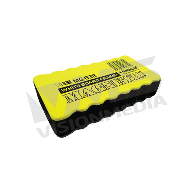 ECONOMICAL WHITEBOARD ERASER MAGNETIC (MEDIUM) (MG-838)