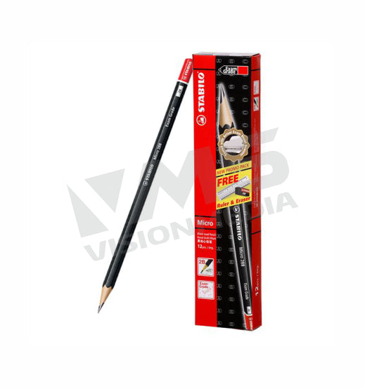 STABILO 2B PENCIL (12PCS PER PACK)