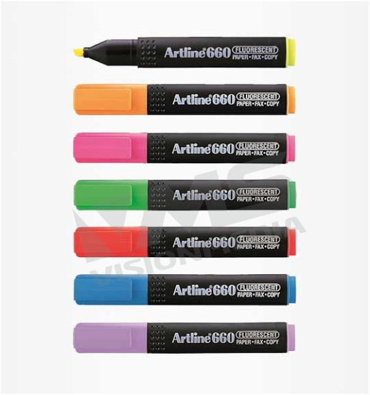 ARTLINE 660 FLUORESCENT HIGHLIGHTER