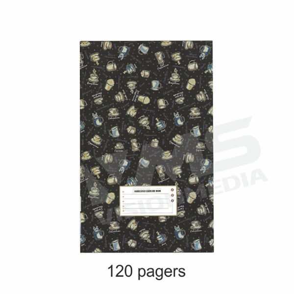 HARD COVER FOOLSCAP BOOK 120 PAGES, 60GSM (EAGLE)