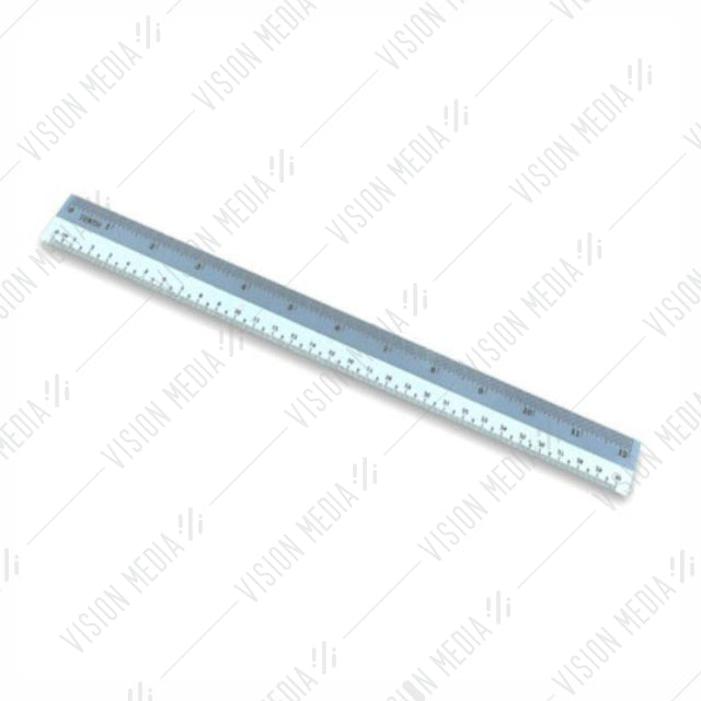 "12"" STRAIGHT PLASTIC RULER"