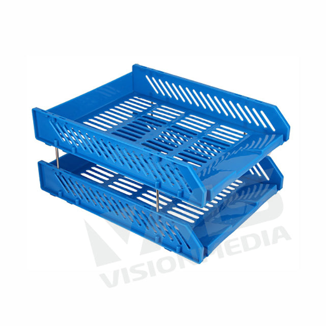ABS PLASTIC DOCUMENT TRAY 2 LAYER