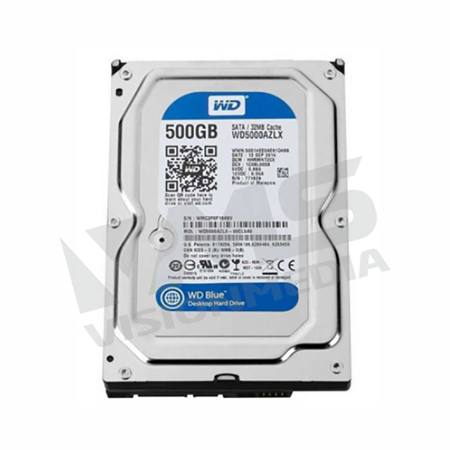 "WD CAVIAR BLUE 3.5"" INTERNAL SATA 500GB HDD (WD5000AZLX)"