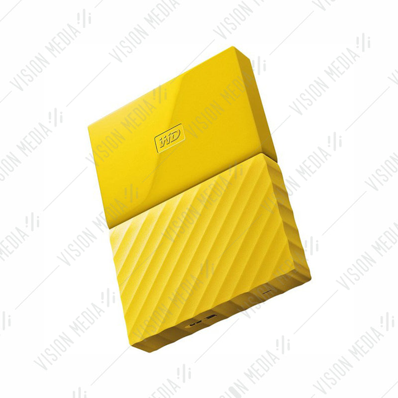 WD PASSPORT 4TB USB3.0 HARD DISK YELLOW (WDBYFT0040BYL)