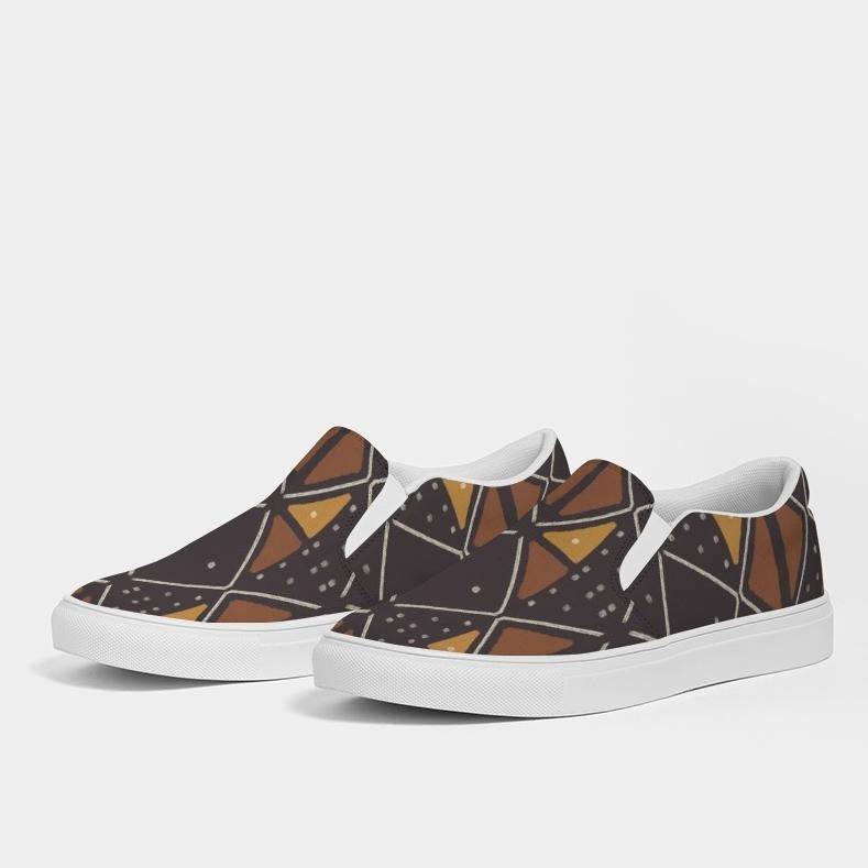Madikwe Men's Slip-On Canvas Sneakers - Redsoil