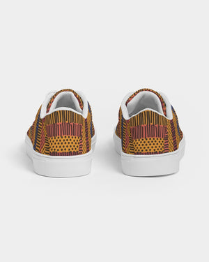 Kente Men's Faux-Leather Sneaker - Redsoil