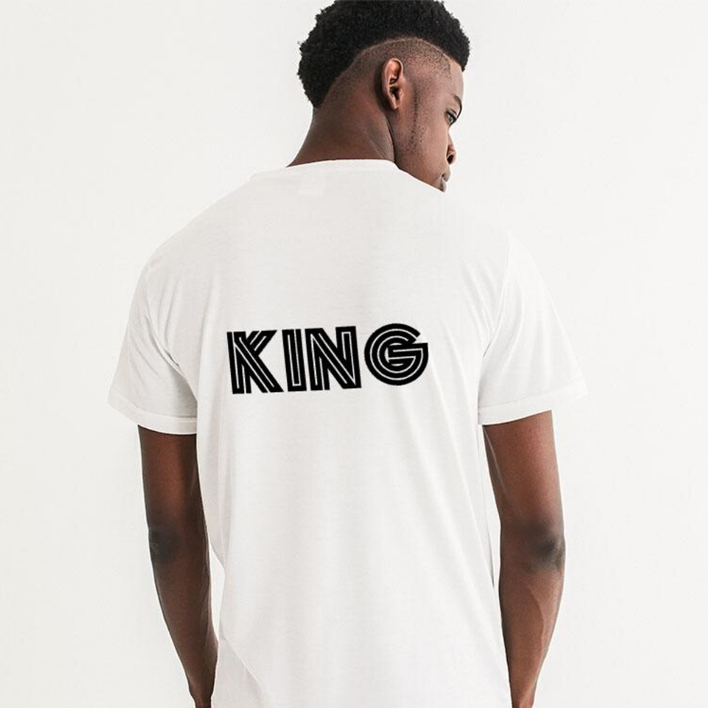 African King Kente Men's Graphic Tee - Redsoil