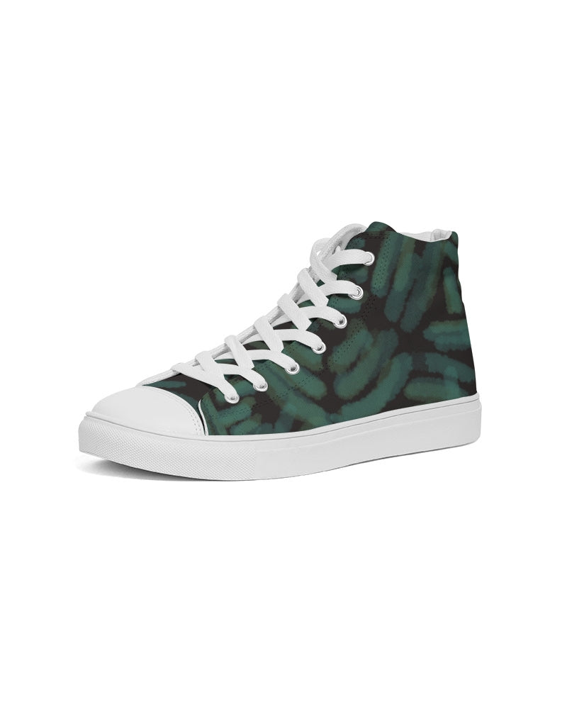 Tsavo Women's Hightop Canvas Sneakers - Redsoil