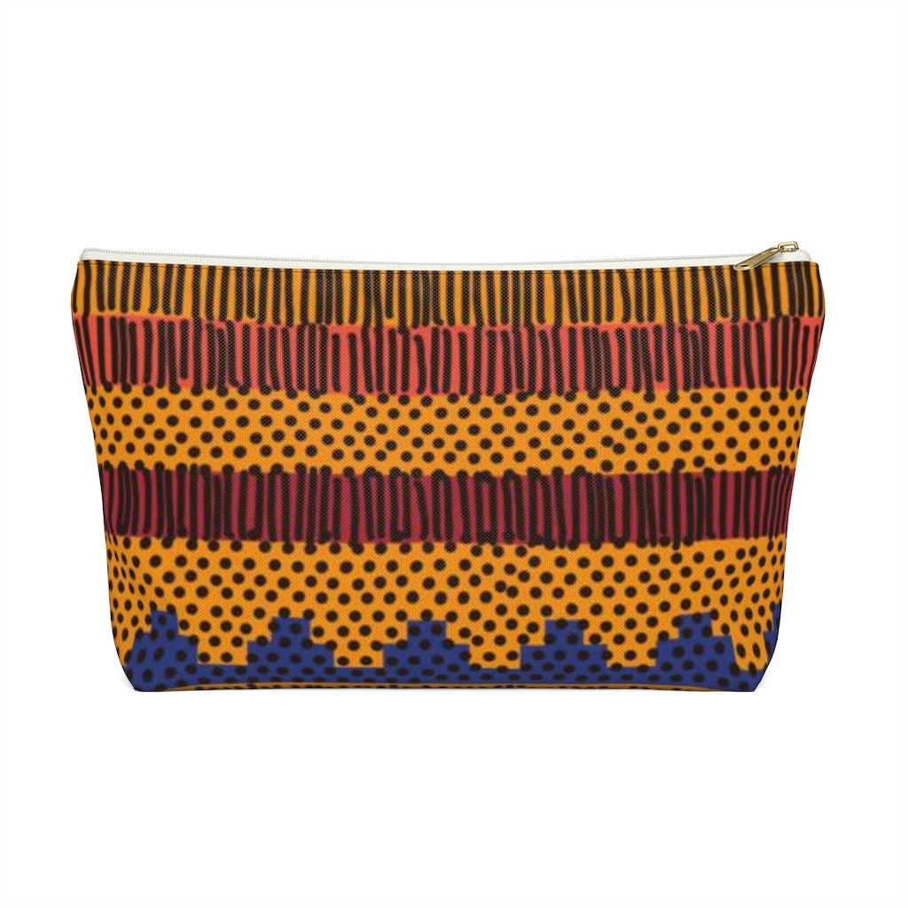 Kente Makeup Pouch - Redsoil