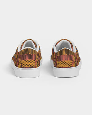 Kente Women's Faux-Leather Sneaker - Redsoil