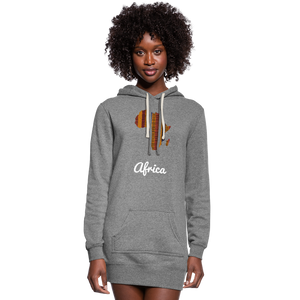 Women's Kente Hoodie Dress - Redsoil