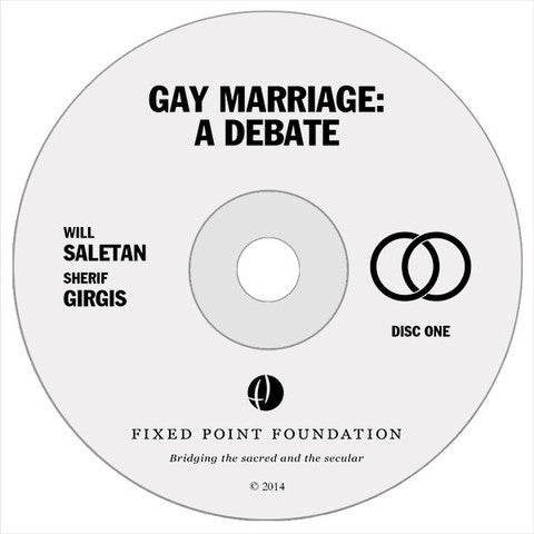 Gay Marriage: A Debate (Audio)