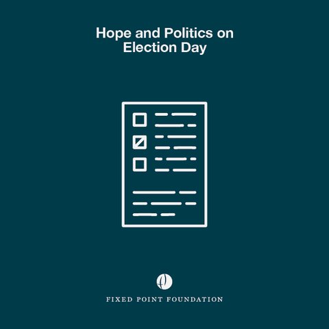 Hope and Politics on Election Day (Audio)