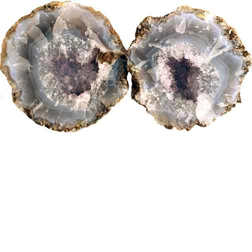 Las Choyas Semi Hollow Geodes