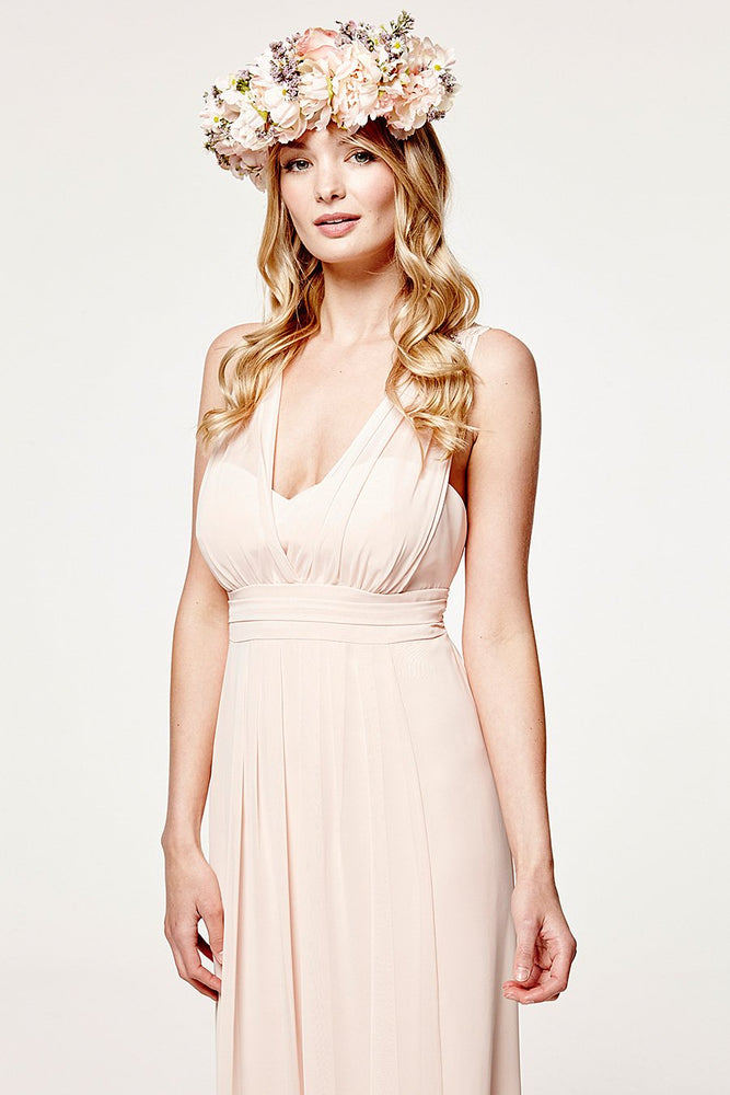 Amy Floaty Just Peachy Bridesmaids Dress (Front Zoom)