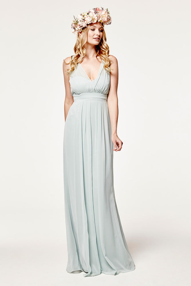Amy Floaty Misty Green Dress