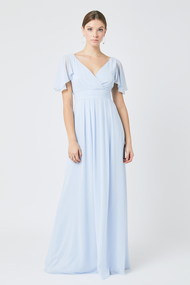 Caroline Cloud Blue Dress