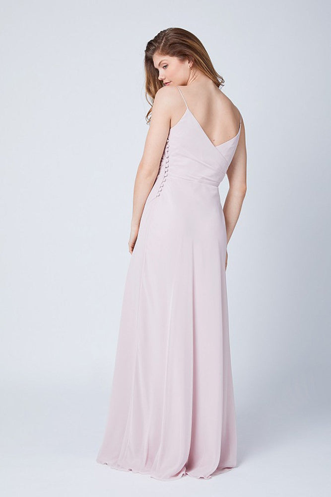 Cambridge Blossom Pink Bridesmaids Dress (Back)