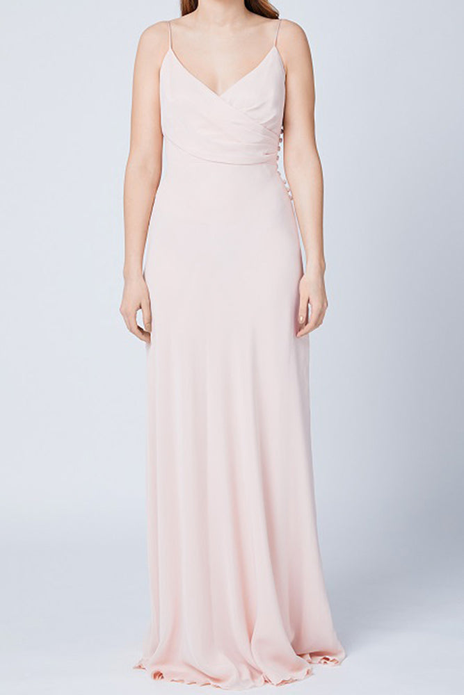 Cambridge Just Peachy Bridesmaids Dress (Front)