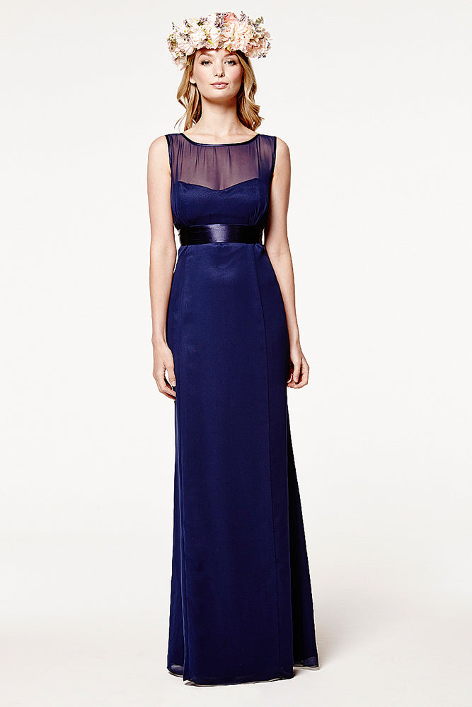 Charlotte Fitted Midnight Navy Dress