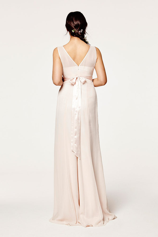 Charlotte Floaty Cream Soda Bridesmaids Dress (Back)