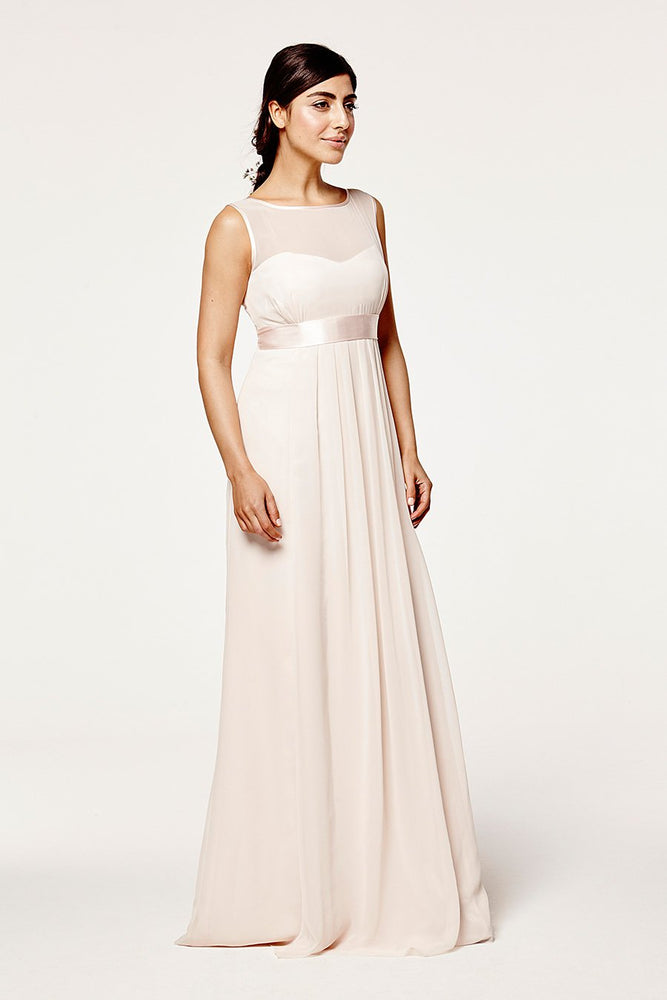 Charlotte Floaty Cream Soda Bridesmaids Dress (Front)